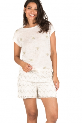 Hoss Intropia | Short Milena | wit
