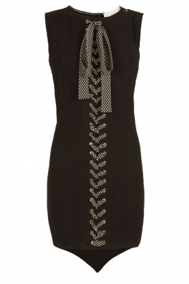 ELISABETTA FRANCHI |  Lace-ip dress Lexa | black