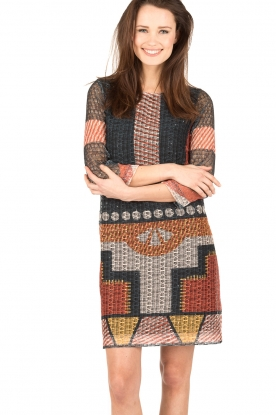 Ana Alcazar |  Dress Brigida | print