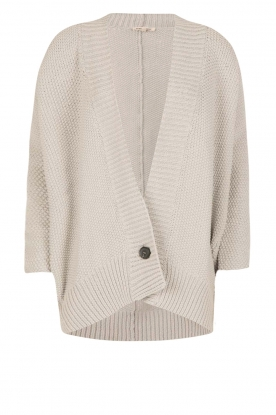 Ruby Tuesday |  Knitted cardigan Unique | grey