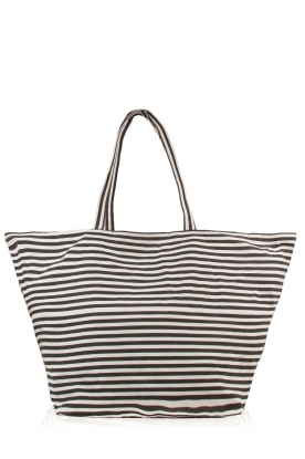 Ruby Tuesday | Shopper Stripe | zwart/wit
