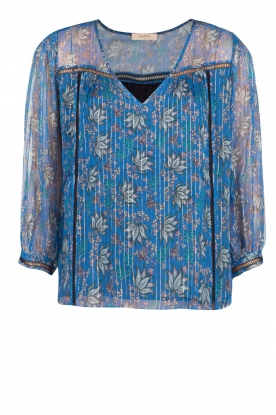ba&sh |  Silk blouse Odelle | blue