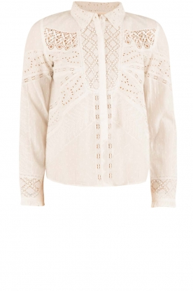 ba&sh | Crochet blouse Emalia | wit
