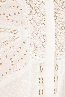 ba&sh   Crochet blouse Emalia   wit
