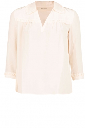 ba&sh |  Silk blouse Leila | nude