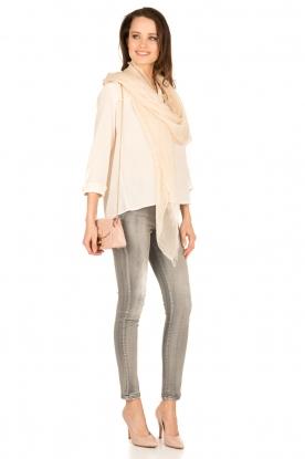 ba&sh | Zijden blouse Leila | nude