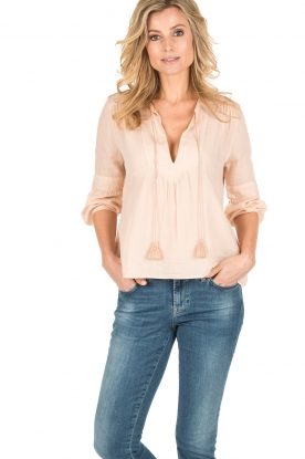 ba&sh | Blouse Tyron | nude