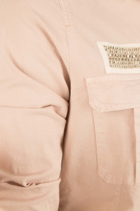 MASONS | Utility jas Field | roze