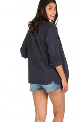 MASONS | Utility jas Field Jacket | blauw