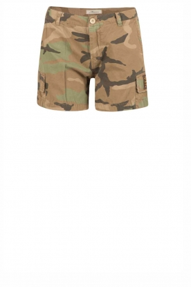 MASONS | Short met legerprint Chille | print