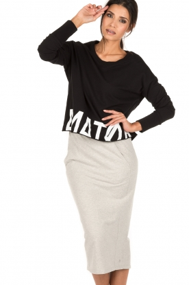 Amatør | Sweater Bibi | zwart