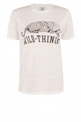 Zoe Karssen | T-shirt Wild Things | wit