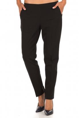 Leon & Harper | Pantalon Pauline | zwart