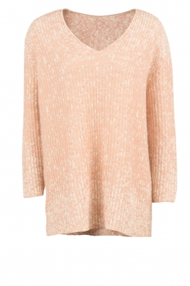 Hoss Intropia |  Knitted sweater Lela | old pink