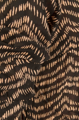 BEACHGOLD | Lange blouse Cruz | bruin