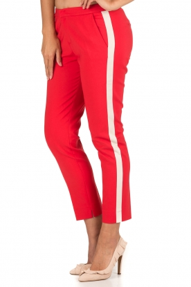 Aaiko | Pantalon Sarene | rood