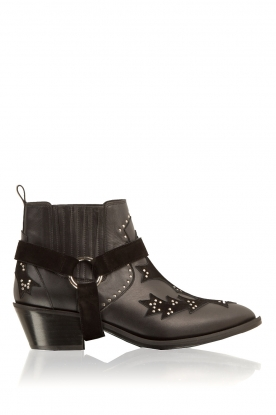 Morobé |  Leather ankle boots Vienne | black