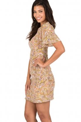Essentiel Antwerp | Zijden jurk Nubble | roze