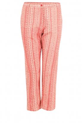 Mes Demoiselles | Pantalon Guilbert | rood