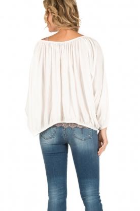 Mes Demoiselles | Off-shoulder blouse Jeronimo | wit