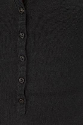 BLAUMAX | Fijn gebreide trui Granada | donkerblauw