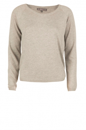 BLAUMAX |  Fine knitted sweater Alicante | grey