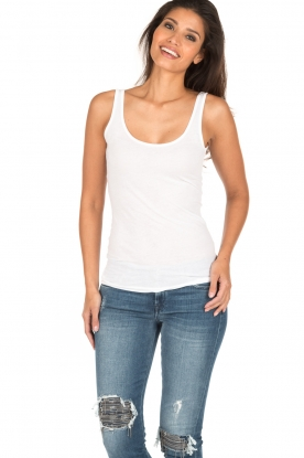 BLAUMAX | Top Elaine | wit