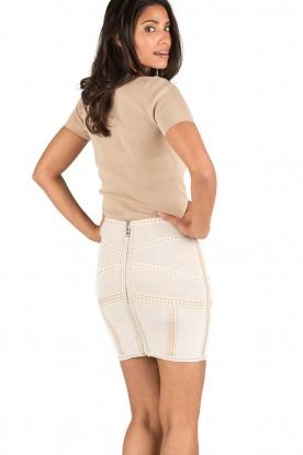 NIKKIE | High waist rok Judy | naturel