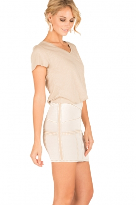 NIKKIE | High waist rok Judy | naturel