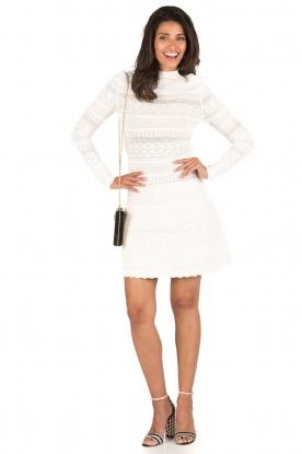 NIKKIE | Kanten jurk Jyll | wit