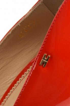 ELISABETTA FRANCHI | Leren Pumps Adine | rood