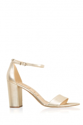 Sam Edelman |  Leather peep toes Yaro | gold