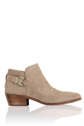 Sam Edelman |  Suede ankleboots Paula | taupe