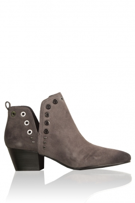 Sam Edelman |  Suede cut-out ankle boots Rubin | grey