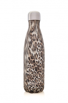 S'well Bottle | Thermosfles warm/koud Khaki cheetah 500 ml | luipaard