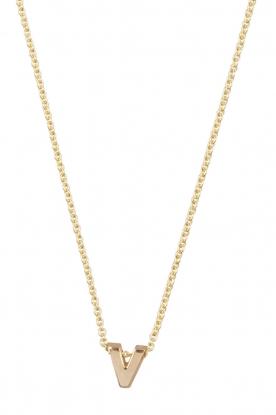 Just Franky | 14k gouden ketting lengte 40 cm | goud