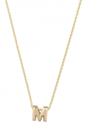 Just Franky |  14k gold necklace length 42 cm | gold