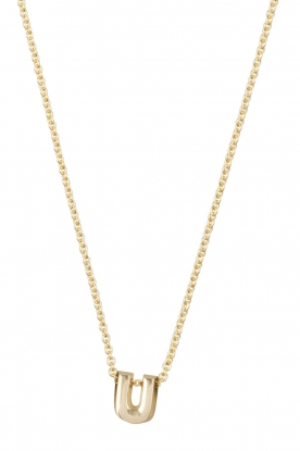 Just Franky |  14k gold necklace length 45 cm | gold