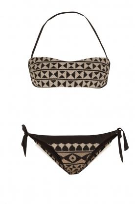 Mitos | Hand gehaakte bikini Chios | print