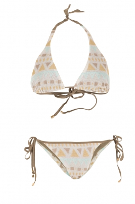 Mitos |  Hand-crocheted bikini Cyclades | print