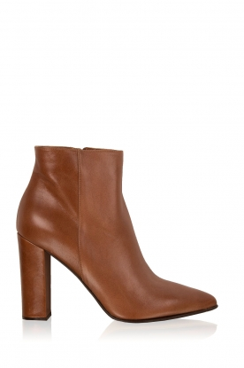 Noe |  Leather ankle boots Norva | brown