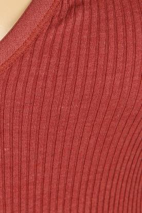 Rosemunde | Zijden top Belle | rood
