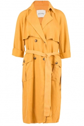 American Vintage |  Trenchcoat Katetown | yellow