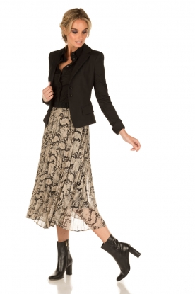 By Malene Birger |  Pleated skirt Wikumedi | print