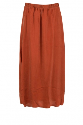 American Vintage |  Maxi skirt Nowichurch | red