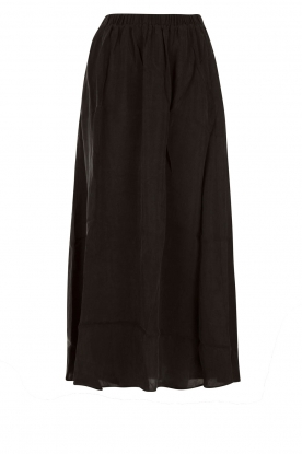 American Vintage |  Maxi skirt Nowichurch | black