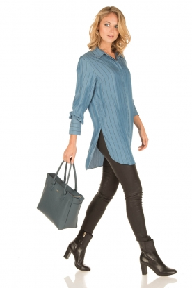 By Malene Birger | Tuniekblouse Kasila | blauw