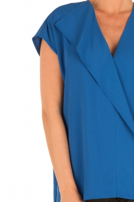 By Malene Birger | Blouse Tobiso | blauw