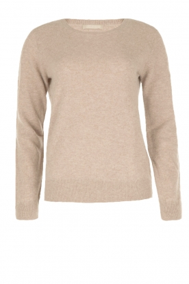 BLAUMAX |  Cashmere sweater Klara | brown
