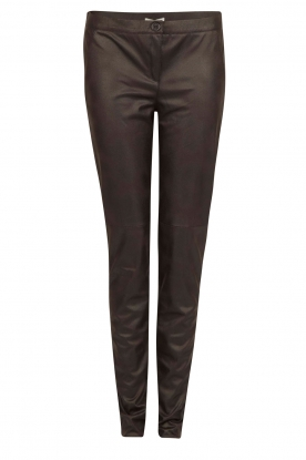 Dante 6 |  Faux leather pants Rascal | black
